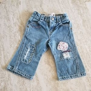 NEW LIST- VTG Old Navy Baby Jeans w/ Patches